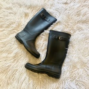 Kamik Black Rainboots Tall Like New